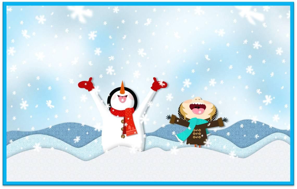 «Первый снег!»
