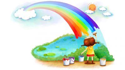 Дети и цвет. Темперамент.