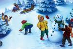 Повторите с детьми «Зимние забавы»