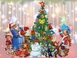 «Как провести новогодние каникулы с детьми»