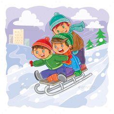 Консультация для родителей «Зимние забавы»