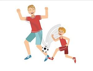Квест — игра «Папа и я, со спортом друзья!»