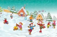 «Подвижные игры для детей дошкольного возраста на новогоднюю тематику»