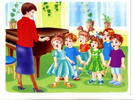 Консультация для педагогов «Роль воспитателя на музыкальных занятиях»