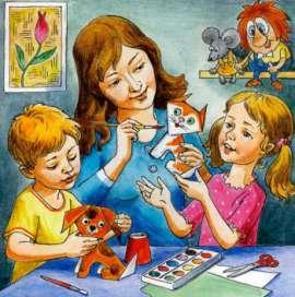 Консультация для родителей «Организация совместного рисования с детьми»