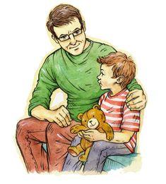 «Папа — это вам не мама!»